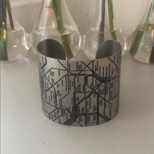 Jewelry - Paris Metro Map Cuff